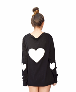 Image of HEART CARDIGAN