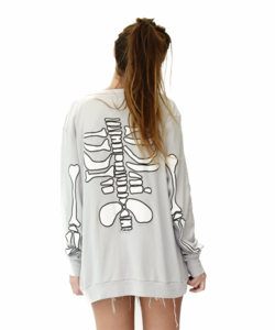 Image of SKELETON CARDIGAN