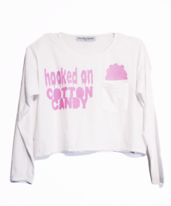 Image of COTTON CANDY LONG SLEEVE TEE
