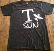 Image of T Sun t-shirt (Vintage Black)