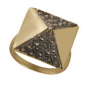Image of DECO PYRAMID ring