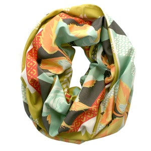 Image of Solstice. Single Loop Infinity Scarf