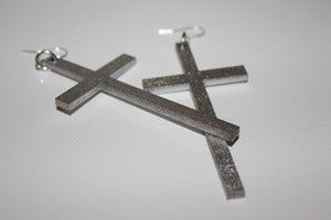 Image of SMALL CROSSES - Silver