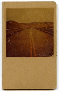 Image of Road Photo on 3.5&quot; X 5.5&quot; Moleskin Blank Journal