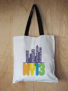 Image of NY13 tote bag