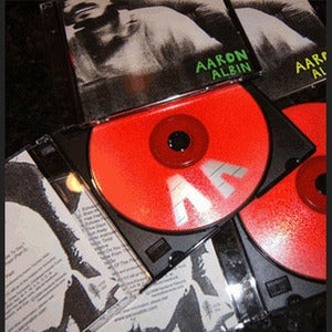 Image of Aaron Albin - Echoes of the Past [CD]
