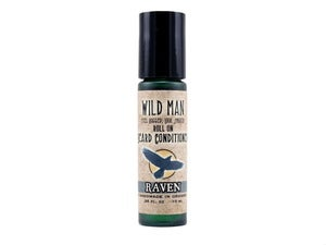 Image of Wild Man Roll On Beard Conditioner - Raven - 10ml