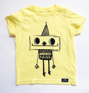 Image of Lemon Robot T-Shirt
