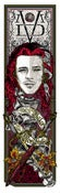 Image of VALAR MORGHULIS - Call the Banner series - MASKED MAN art print
