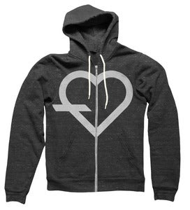 Image of Simple Tri-Blend Zip Up