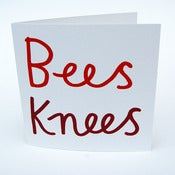 Image of Bees Knees Greeting Card