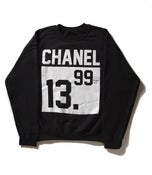 Image of #PlusTax: Chanel Black Crewneck Sweatshirt