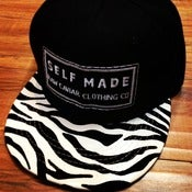 Image of Raw Caviar Zebra Bill Snapback