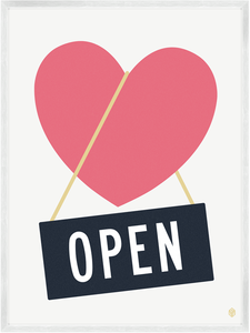 Image of Open Heart Print