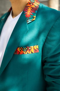 Image of Tribal Block Men's Blazer