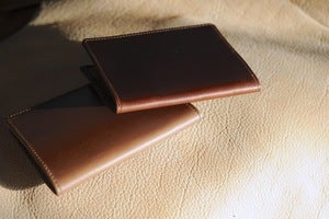 Image of Richie the Boot - Chromexcel Passport Holder