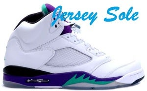 "Image of Jordan Retro 5 ""Grape"""