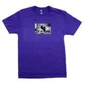 Image of PUREFILTH x Cam Damage Photo Tee In Purple