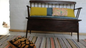Image of Banquette / coffre au look scandinave