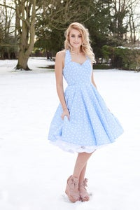 Image of Blue Heart Dress