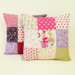 Image of Patchwork cushion