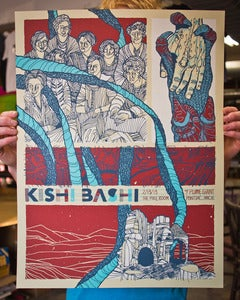 Image of Kishi Bashi - Screenprinted Poster