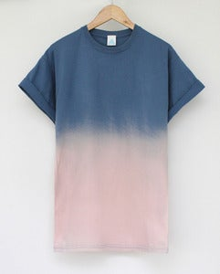 Image of Sunset Dip Dye Tee