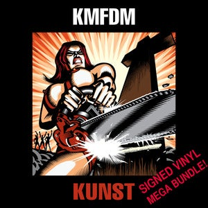 Image of KUNST MEGA BUNDLE - Includes signed vinyl LP!