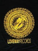 Image of *NEW* Loveway Records Logo- Black/Yellow