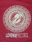 Image of *NEW* Loveway Records Logo- Maroon/Grey