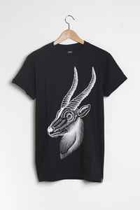 T-shirt design Antelope - Black