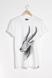T-shirt design Antelope - White
