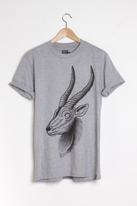 T-shirt design Antelope - Heather Grey