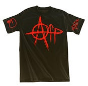 Image of Afro-Punk Anarchy T-shirt - Black
