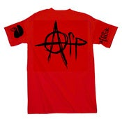 Image of Afro-Punk Anarchy T-shirt - Red
