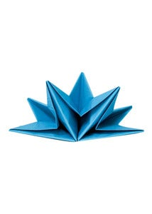 Image of Origami Napkins - Green or Blue