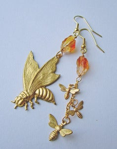 Image of Swarm Wasp Earrings