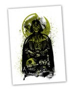 Image of Death Vader A3 Giclee Art Print