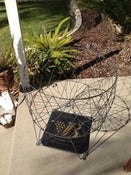 Image of Large Collapsable Wire Basket