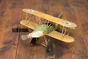 Image of Airplane Toy - Vintage Style - Photography Prop