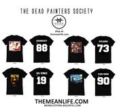 Image of DEAD PAINTERS SOCIETY x MEAN CLOTHING PACKAGE (4 SHIRTS)