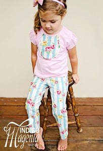 Image of CUSTOM Flower Sugar Girls Jeans &amp; T-shirt