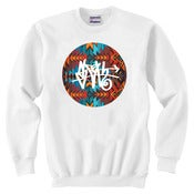 Image of Aztec SLOTH Tag White Crew Neck