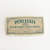 Image of Vintage Peri-Lusta Embroidery Thread