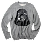 Image of SLOTH Vader Grey Crew Neck Sweater