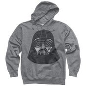 Image of SLOTH Vader Grey Pullover Hoodie