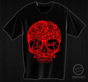 Image of 2FU! Hipster Skull