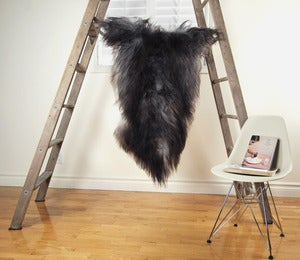 Image of Large Gray Sheepskin GR-268