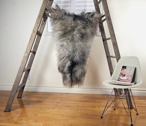 Image of Large Gray Sheepskin GR-261