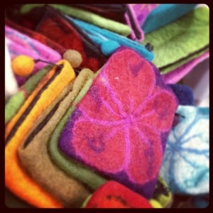 Image of Flower Power Notions Purse